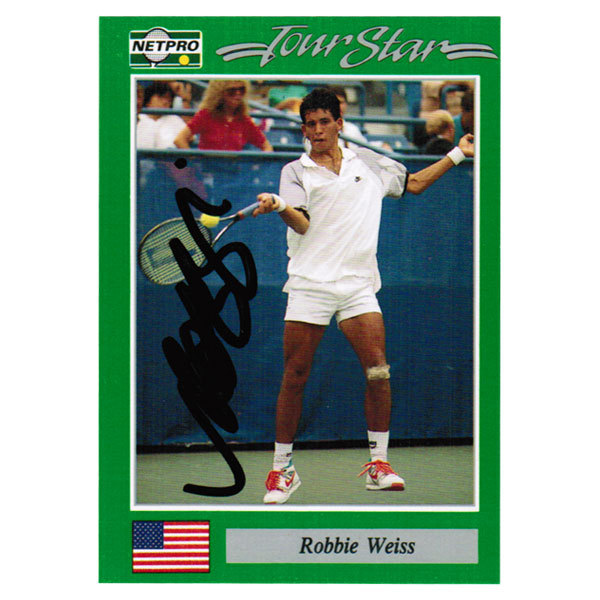 Robbie Weiss Signed Men's Card