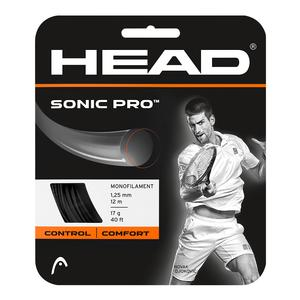 HEAD SONIC PRO 17G STRINGS BLACK