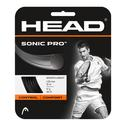 HEAD Sonic Pro 17g Strings Black
