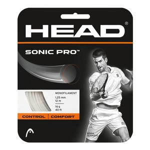 HEAD SONIC PRO 16G STRINGS WHITE