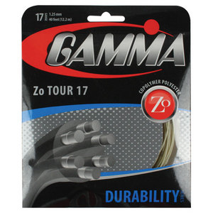 GAMMA ZO TOUR TENNIS STRINGS 17G/ 1.25 MM NA
