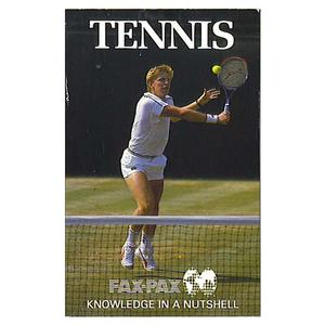 Tennis Fax-Pax Trading Card Set 1987