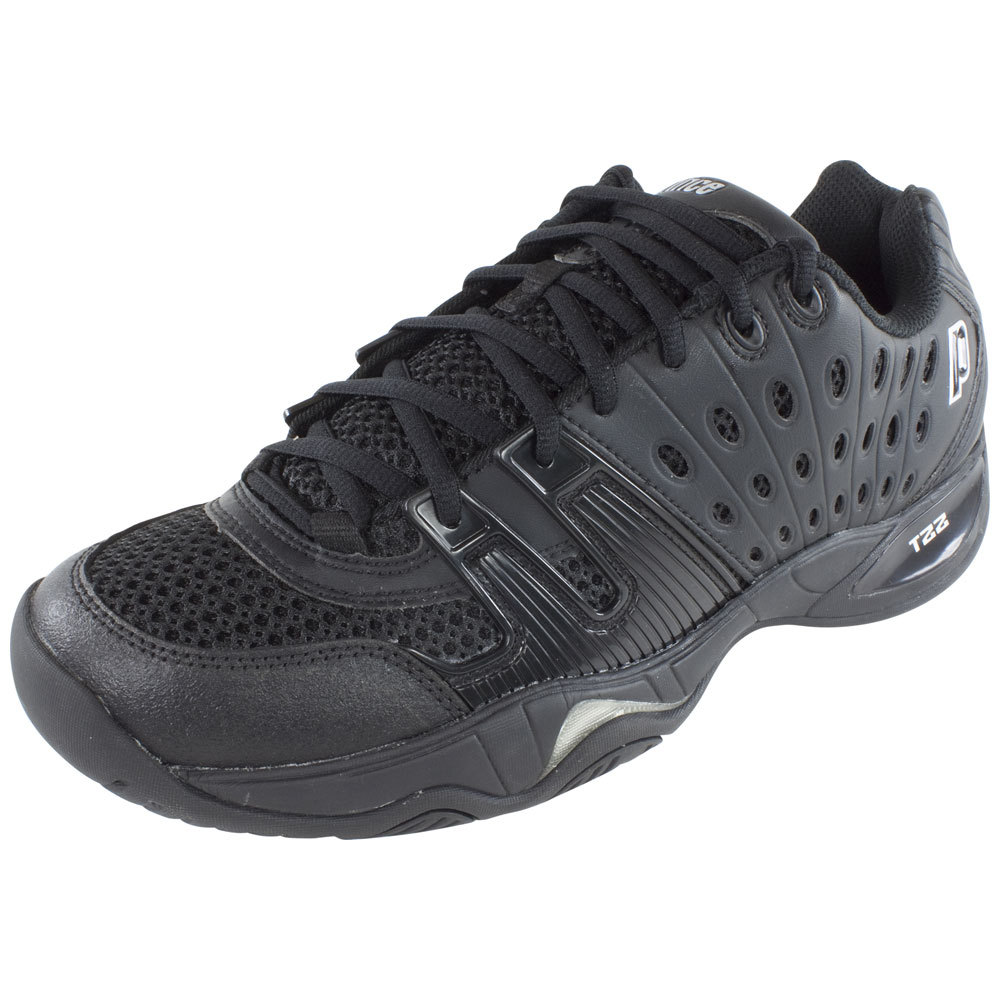 Prince T22 Men's Team Tennis Shoes Black