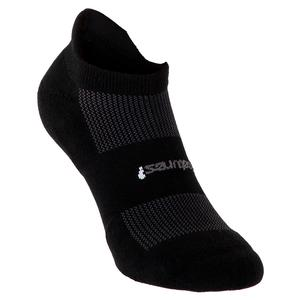 FEETURES LIGHT NO SHOW TAB SOCKS BLACK