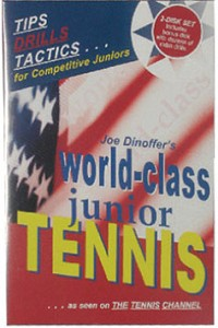 ONCOURT OFFCOURT WORLD CLASS JUNIOR TENNIS DVD