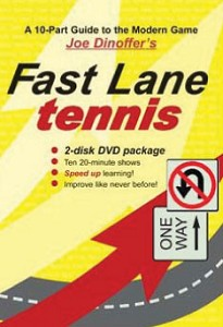 ONCOURT OFFCOURT Fast Lane Tennis DVD