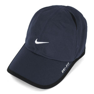 NIKE FEATHER LIGHT CAP OBSIDIAN