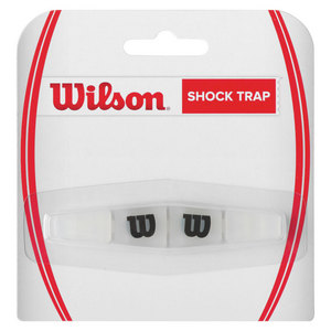 WILSON SHOCK TRAP TENNIS DAMPENER CLEAR/BLACK