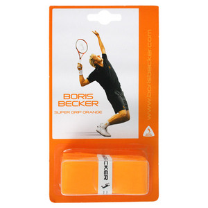 BORIS BECKER SUPER GRIP 3 PACK OVER GRIP ORANGE