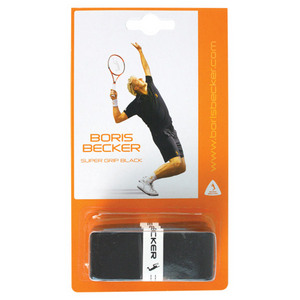 BORIS BECKER SUPER GRIP 3 PACK OVER GRIP BLACK