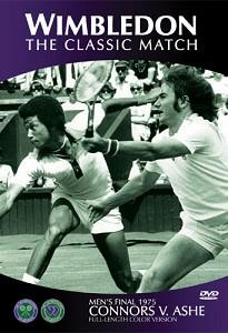 WIMBLEDON 1975 Ashe v Connors Final Wimbledon DVD