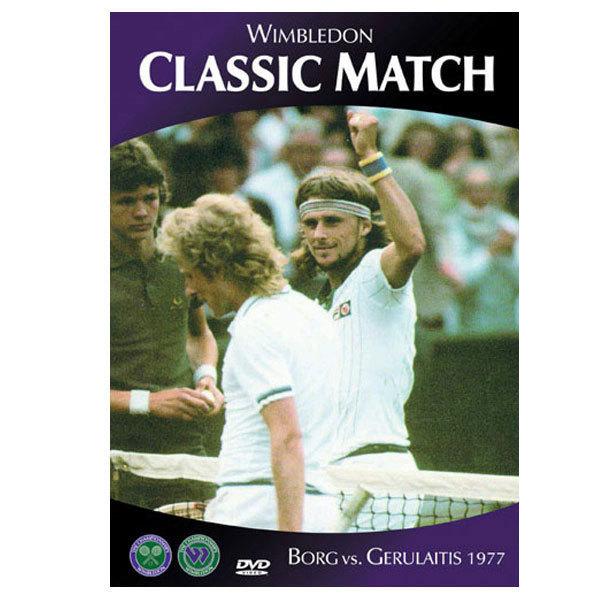 Borg V Gerulaitis 1977 Wimbledon Dvd