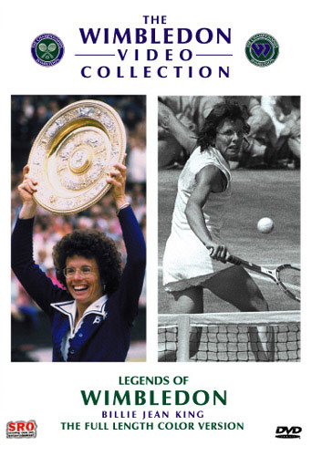 Legends Of Wimbledon Billiejean King Dvd