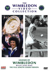 WIMBLEDON Legends of Wimbledon BillieJean King DVD