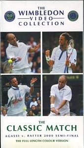 WIMBLEDON 2000 Agassi vs Rafter Wimbledon DVD