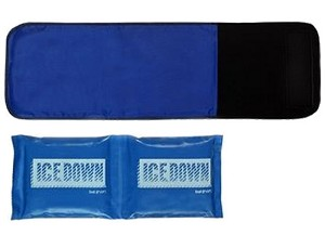 I.C.E. DOWN COLD THERAPY WRAP SMALL