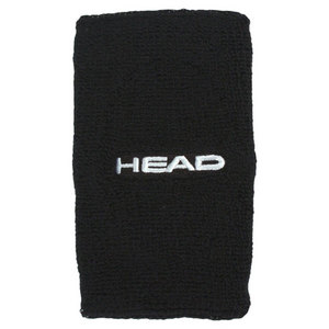 HEAD HEAD WRISTBANDS 5` BLACK