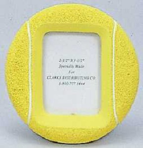 CLARKE TENNIS BALL PIC. FRAME SMALL
