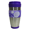 CLARKE Tennis Travel Tumbler Purple