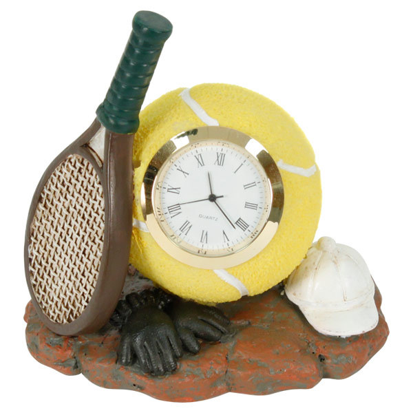 Temmos Clock Poly Resin Rqt/Cap