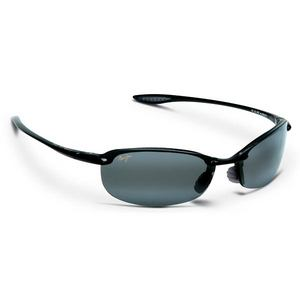 MAUI JIM MAKAHA SUNGLASSES GLOSS BLACK NEUTRAL GY