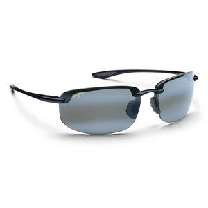 MAUI JIM HOOKIPA SUNGLASSES GLASS BLK NEUTRAL GY