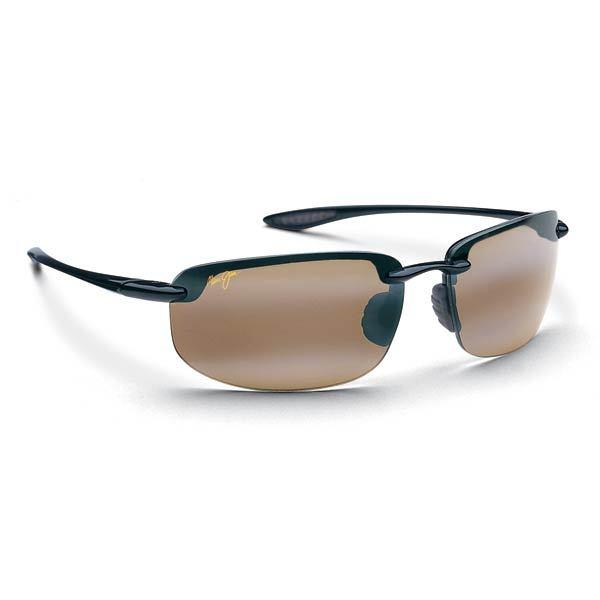 Maui Jim Hookipa Sunglasses Gloss Black HCL Bronze