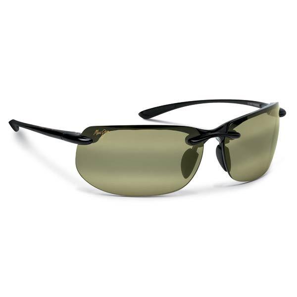 Maui Jim Banyans Sunglasses Gloss Black Maui HT