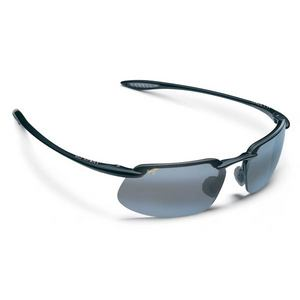 MAUI JIM KANAHA SUNGLASSES GLOSS BLACK NEUTRAL GY