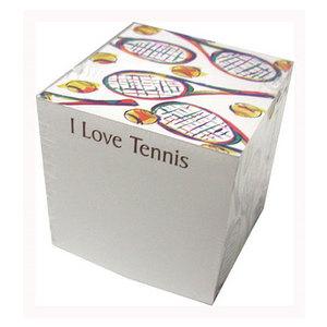 CLARKE BLOCK NOTES I LOVE TENNIS