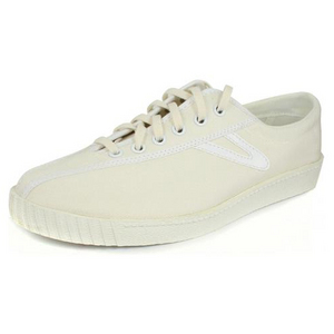 Women`s Nylite Plus Canvas White Tennis Shoes