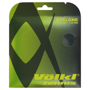 VOLKL CYCLONE 1.20/18G BLACK TENNIS STRINGS
