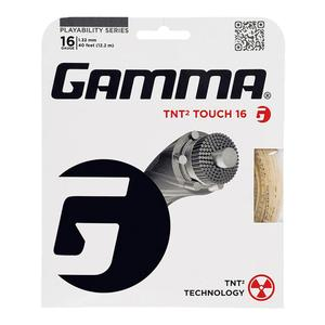 GAMMA TNT2 TOUCH 16 GAUGE TENNIS STRING