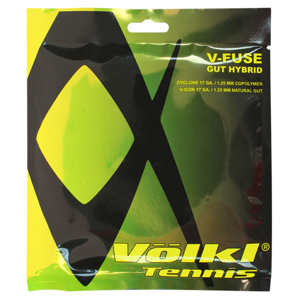 V Fuse Hybrid 17g Tennis Strings