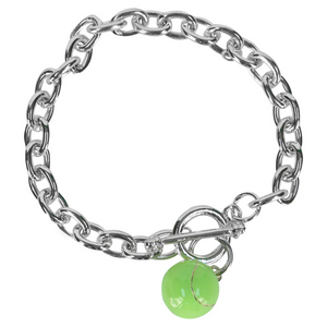 Tennis Ball Chain Bracelet