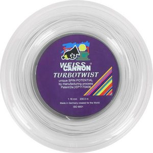 Turbotwist 18G Reel Tennis String