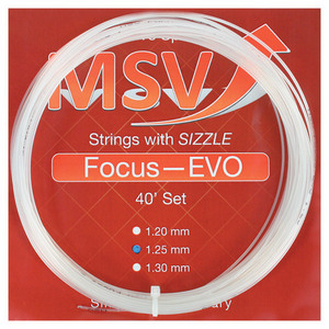 MAUVE SPORTS MSV FOCUS EVO 125 CLEAR TENNIS STRING