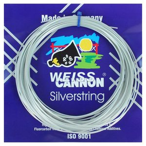 WEISS CANNON SILVERSTRING 17G TENNIS STRING
