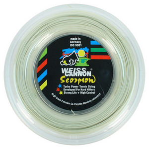 WEISS CANNON SCORPION 122 REEL TENNIS STRING