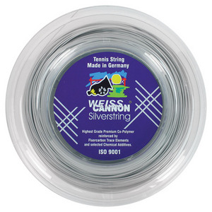 WEISS CANNON SILVERSTRING 17G REEL TENNIS STRING