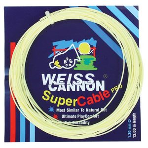 WEISS CANNON SUPERCABLE PRO 130 TENNIS STRING