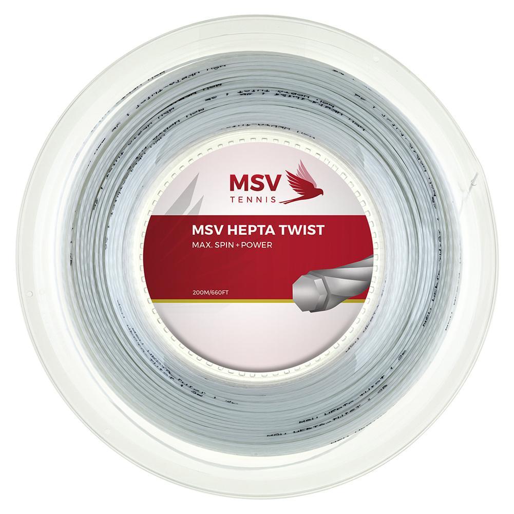 Msv Hepta Twist 120 Reel Tennis String