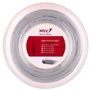 MSV Focus Hex 123 Reel Tennis String White