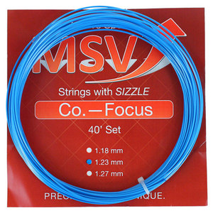 MSV Co Focus 123 Aqua Tennis String