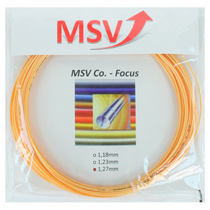 MAUVE SPORTS MSV CO FOCUS 127 GOLD TENNIS STRING