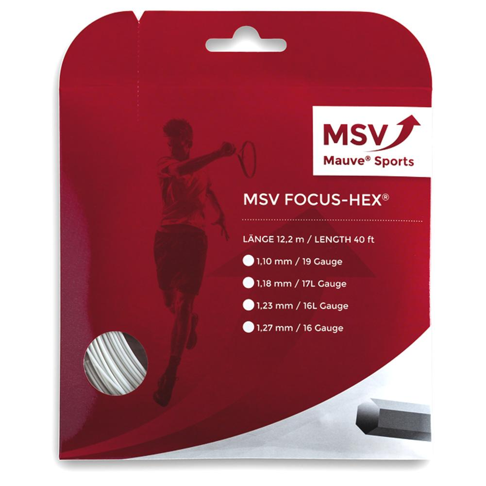 Msv Focus Hex 110 White Tennis String