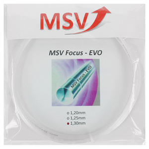 MAUVE SPORTS MSV FOCUS EVO 130 CLEAR TENNIS STRING