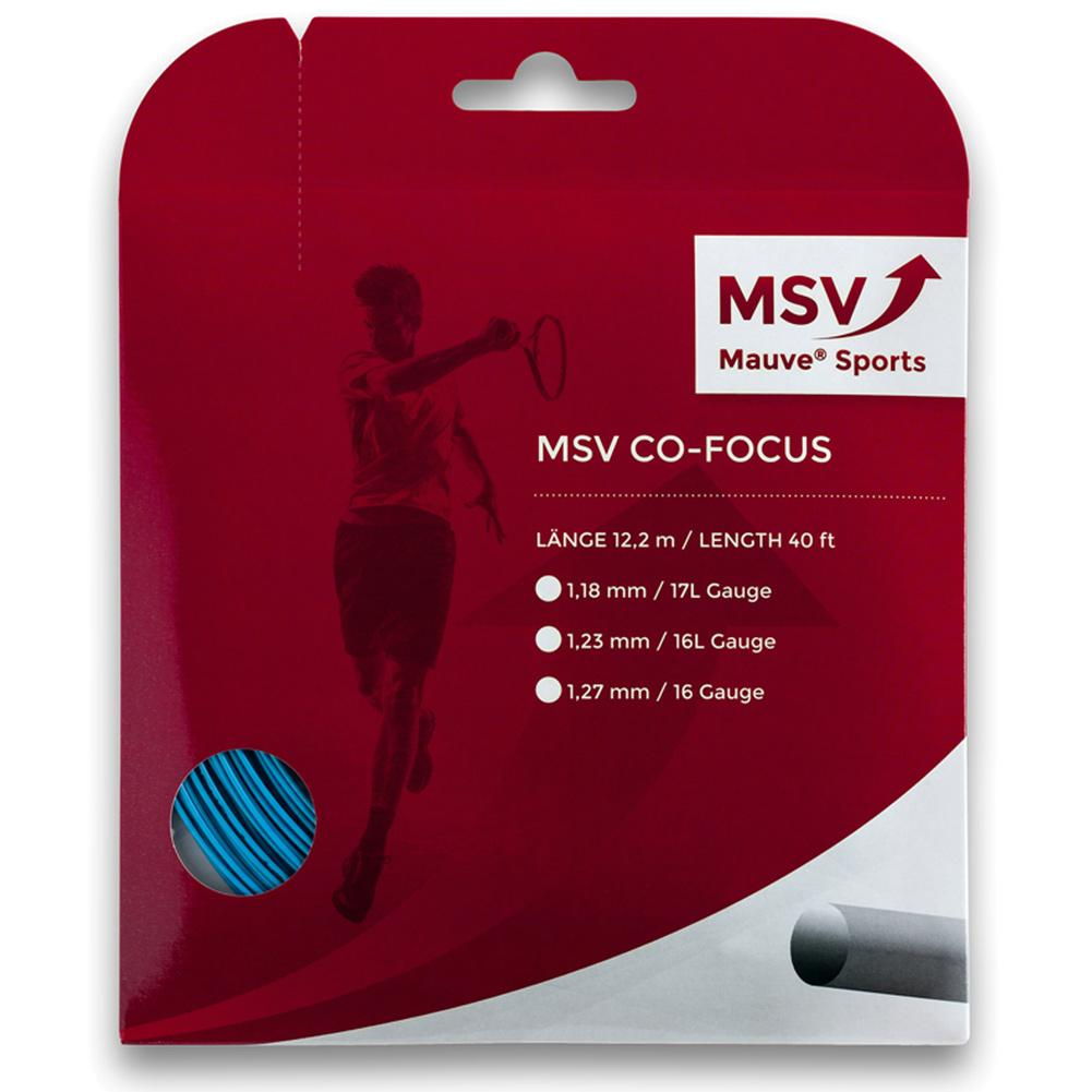 Msv Co Focus 127 Aqua Tennis String
