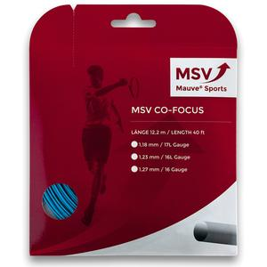 MAUVE SPORTS MSV CO FOCUS 127 AQUA TENNIS STRING