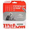 WILSON Extreme Synthetic Gut 17G Natural Tennis String